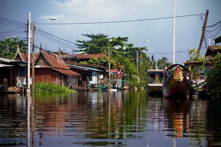 Bangkok Tour - Private Canal Boat Ride
