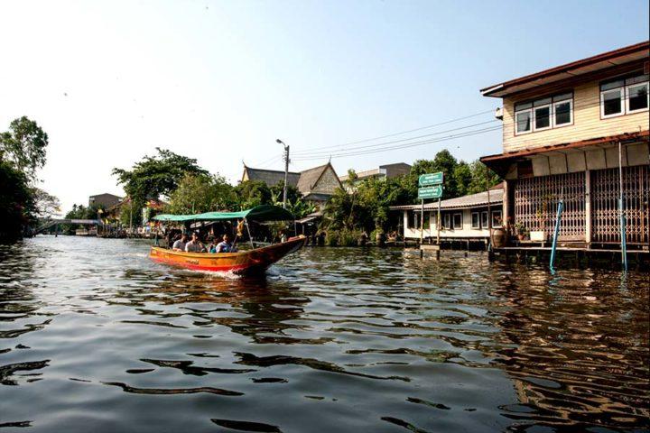 Bangkok Tour - Boat Trip Sunset