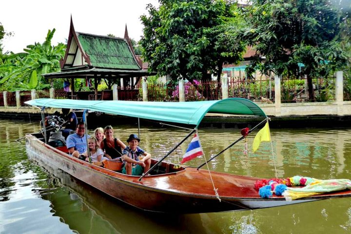 Bangkok Tour - Family boat ride