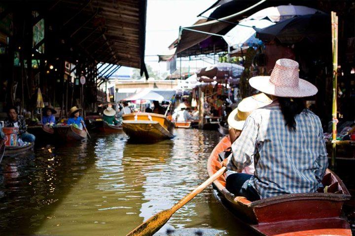 Bangkok Tour - Floating market boat trip