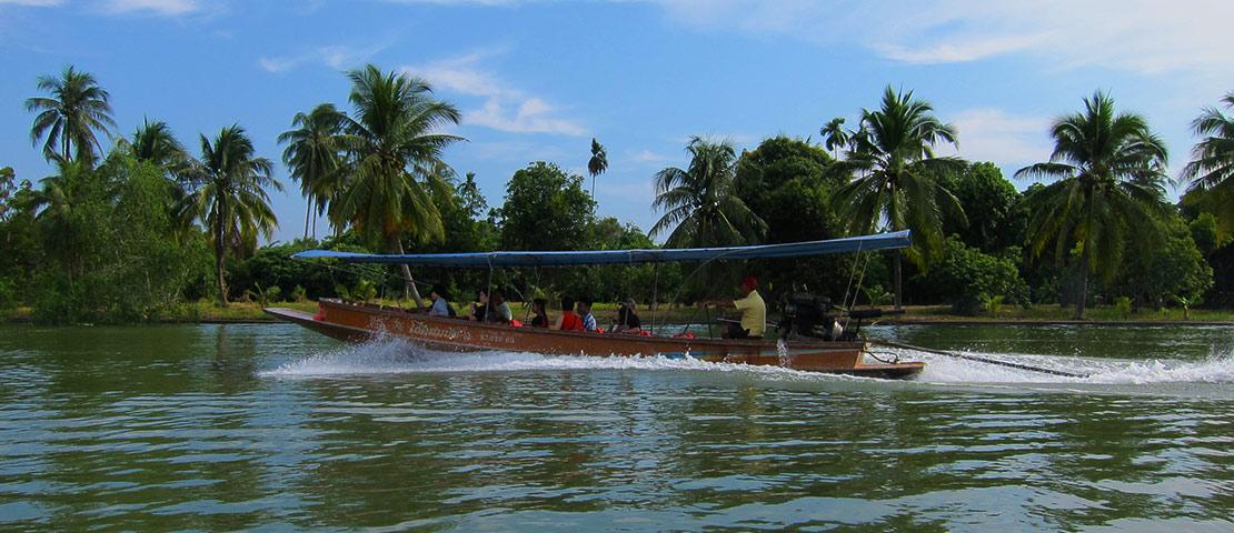 Bangkok Tour - Lazy afternoon boat tour - Feat