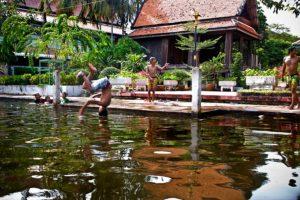Bangkok Tour - Local people boat trip
