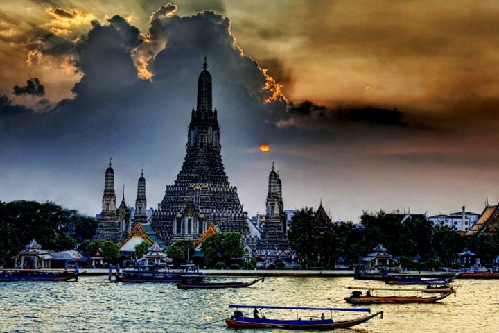 Bangkok Tour - Sunset Wat Arun