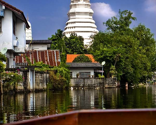 Bangkok Tour - Temple Boat Trips Sunset