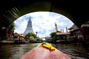 Bangkok Tour - Temple boat trip