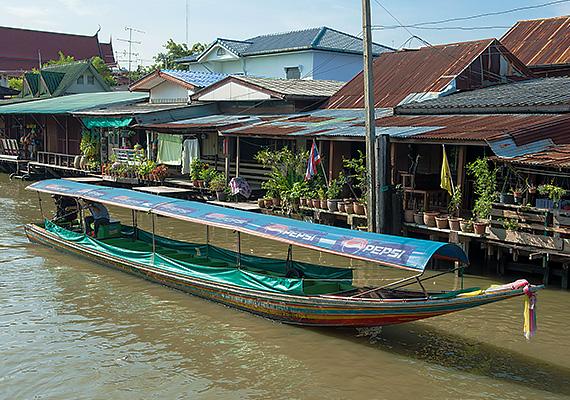 Bangkok Tour - Long Tail Boat